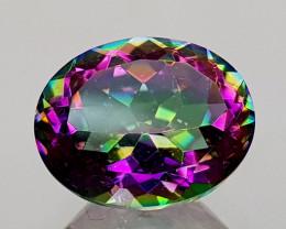 2.39Crt Mystic Quartz Natural Gemstones JI14