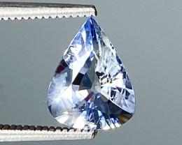 1.39Ct Natural Blue Sapphire Good Quality  Gemstone. BS 01