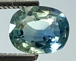 1.00Ct Natural Blue Sapphire Good Quality  Gemstone. BS 03