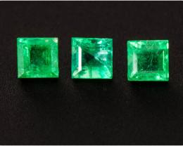 Emerald  0.35 ct Zambia GPC Lab