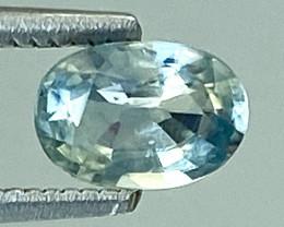 0.53Ct Natural Blue Sapphire Good Quality  Gemstone. BS 07