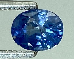 0.83Ct Natural Blue Sapphire Good Quality  Gemstone. BS 13