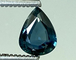 0.59Ct Natural Blue Sapphire Good Quality  Gemstone. BS 14