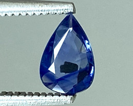 0.34Ct Natural Blue Sapphire Good Quality  Gemstone. BS 18