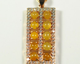 Natural Grade A Jadeite Jade   Pendant