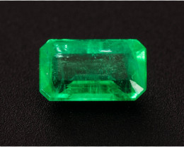 Emerald  0.23 ct Zambia GPC Lab