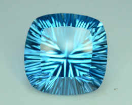 Top Quality Attractive Laser Cut 52.95 ct Blue Topaz