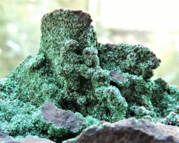 97.13g MALACHITE SPECIMEN FROM LIMENARIA THASOS ISLAND GREECE