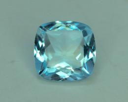 Fancy Cut Amazing Color 2.30 ct Blue Topaz