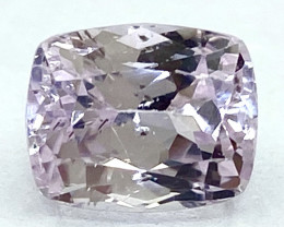 3.59 Ct Kunzite Top Cut Top Luster Quality Gemstone.From Pakistan.PKZ 37