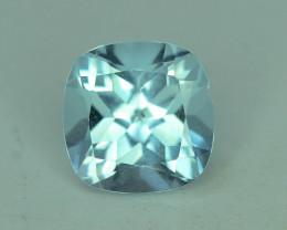 Fancy Cut Amazing Color 2.55 ct Blue Topaz