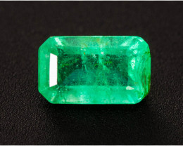 Emerald  0.28 ct Zambia GPC Lab