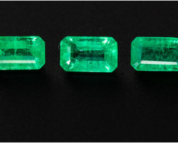 Emerald  0.82 ct Zambia GPC Lab