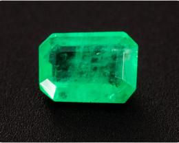 Emerald  0.17 ct Zambia GPC