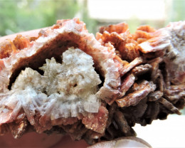58.70g BLADED BARYTE CRYSTALS SPECIMEN FROM LAVRION MINES GREECE