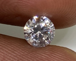 (4) Certified $1013  Precious 0.50cts SI1 Nat  White Round Loose Diamond
