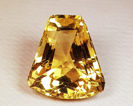4.43 ct AAA Quality Fancy Cut Golden Orange Natural Citrine