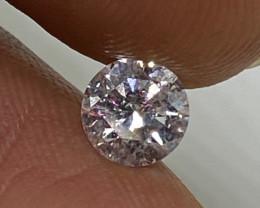 (14) Certified $1315 Precious 0.57cts SI1 Nat White Round Loose Diamond