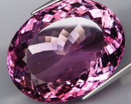 82.12 ct 100% Natural Earth Mined Unheated Purple Amethyst, Uruguay
