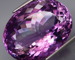 39.87 Ct. 100 % Natural Rich Purple Amethyst Uruguay Unheated