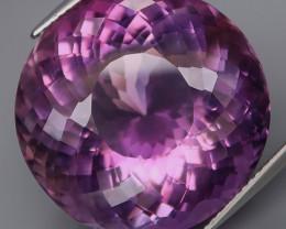 38.54 Ct. 100 % Natural Rich Purple Amethyst Uruguay Unheated