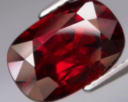 5.91  ct. 100% Natural Earth Mined Red Spessartite Garnet Africa