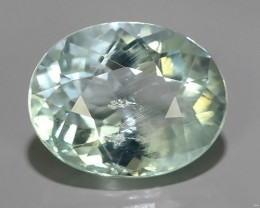 4.25 CTS FANTASTIC HUGE AWESOME  NATURAL OVAL CUT AQUAMARINE!!
