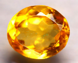 Citrine 3.65Ct Natural Golden Yellow Color Citrine D0104/A2