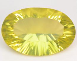 14.89 Cts Natural Lemon Quartz Gemstone