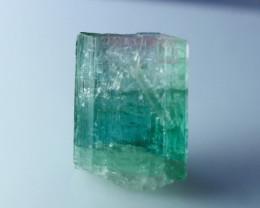 7.40 CT Natural - Unheated Bi Color Tourmaline Crystal