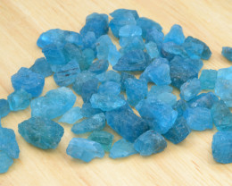 Natural Rough Apatite  210.45 Cts, Top Color
