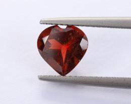 2ct Natural Heart-Shaped Garnet