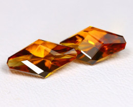 Mandera Citrine 3.15Ct VVS Master Cut Natural Orange Citrine AB4194