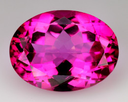 9.97Cts Pink Topaz Top Cut and Luster Gemstone PT5