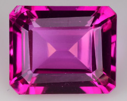 7.59Cts Pink Topaz Top Cut and Luster Gemstone PT10