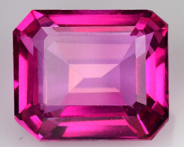7.72Cts Pink Topaz Top Cut and Luster Gemstone PT12