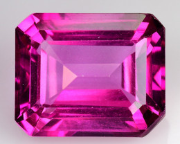 7.51Cts Pink Topaz Top Cut and Luster Gemstone PT13