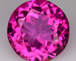 8.03Cts Pink Topaz Top Cut and Luster Gemstone PT22