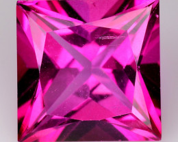 3.86Cts Pink Topaz Top Cut and Luster Gemstone PT36