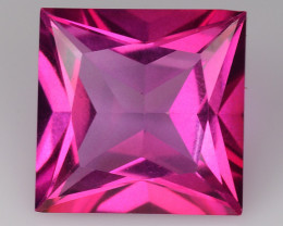 3.83Cts Pink Topaz Top Cut and Luster Gemstone PT40