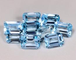 26.08Ct Natural Vivid Swiss Blue Color Topaz A037