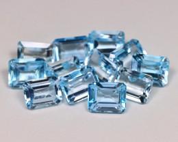 30.39Ct Natural Vivid Swiss Blue Color Topaz A042