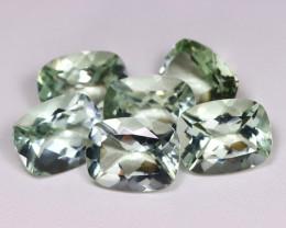 39.35Ct Natural Leaf Green Color Prasiolite Green Amethyst A044