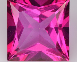 4.13Cts Pink Topaz Top Cut and Luster Gemstone PT41