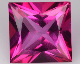 3.77Cts Pink Topaz Top Cut and Luster Gemstone PT42