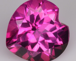 4.50Cts Pink Topaz Top Cut and Luster Gemstone PT44