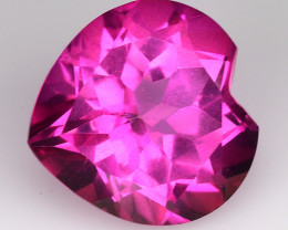 4.38Cts Pink Topaz Top Cut and Luster Gemstone PT46