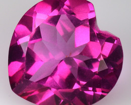 3.86Cts Pink Topaz Top Cut and Luster Gemstone PT56