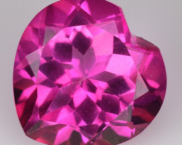 4.53Cts Pink Topaz Top Cut and Luster Gemstone PT60