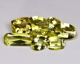 32.85Ct Natural Neon Yellow Color Lemon Quartz A092
